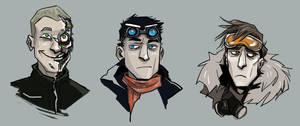 Masks off by mrozna