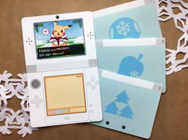 Nintendo Holiday Greeting Cards by jojostory