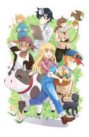 More Harvest Moon Life by jojostory