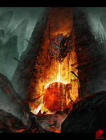 Flame into the abyss by zhaoenzhe