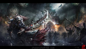Decisive battle  by zhaoenzhe