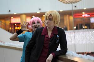 Yuki and Shuichi by KyoyaKun