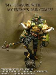 Kamen Rider Leangle Jack Form by AjDrawer