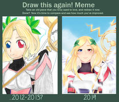 Valkyrie - Before and After! by Ryu-Sh1r0