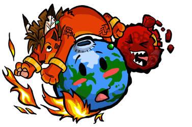 FF7 gets Firefox by Meteor-Panda