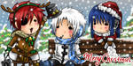 +DGM-Merry Christmas+ by Evil-usagi