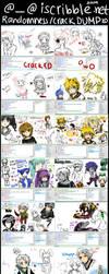 +Iscribble DUMP XD+ by Evil-usagi
