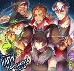 VLD - Happy Halloween :D by Evil-usagi