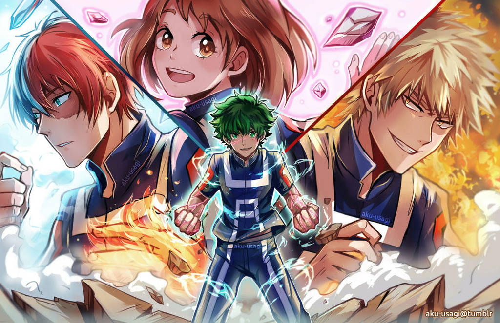 MHA favourites by Envy5h on DeviantArt