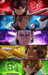 Team Voltron by Evil-usagi