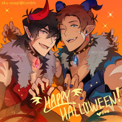 Happy Halloween! by Evil-usagi