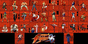 THE KING OF FIGHTERS 96 RED by Squall-Lawliet