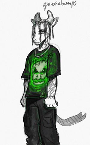 goosebumps sketch by fid999et