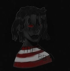 DENZEL CURRY inspired me to draw this TABOO - dark by fid999et
