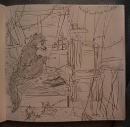 sweet sketch atmosphere by fid999et