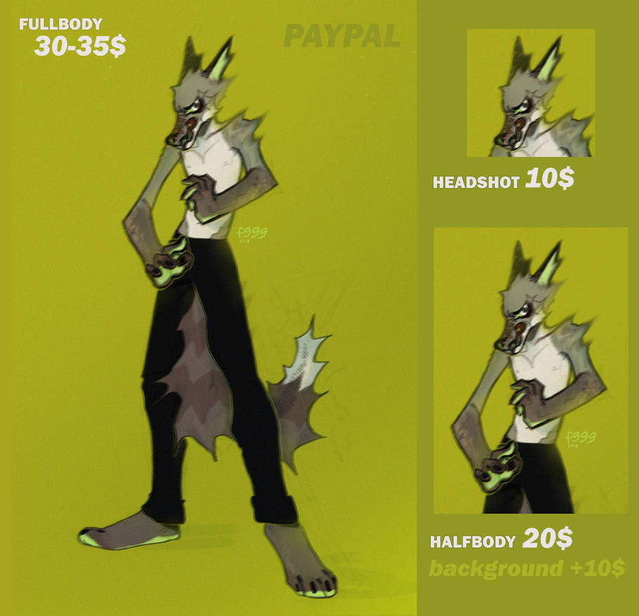 PRICE list /commissions open/ by fid999et
