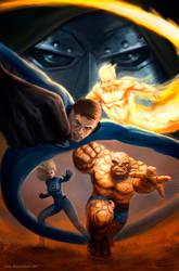 Fantastic Four by SebastianDrewniok