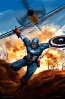 Captain America by SebastianDrewniok