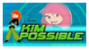stamp: KiM POSSiBLE - logo by SimbiAni