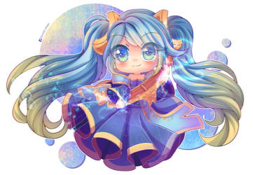 Sona League of Legends - Art Trade con Styleet by Hanni-Tan