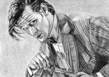 Matt Smith, Doctor Who by LittleDragonZ