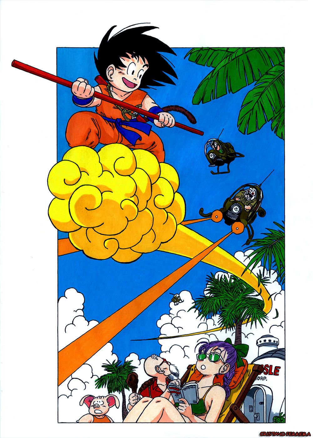 Goku Action by FantasminhaCamarada