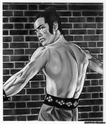 Bruce Lee _ The Dragon of Jade by FantasminhaCamarada
