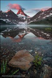 Mt Assiniboine by Dani-Lefrancois