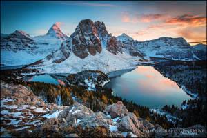 Assiniboine Sunset by Dani-Lefrancois