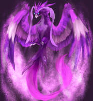 Made of Purple Fire by R8A-creations