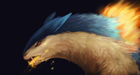 Typhlosion by R8A-creations