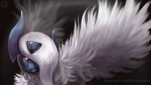 Mega Absol by R8A-creations