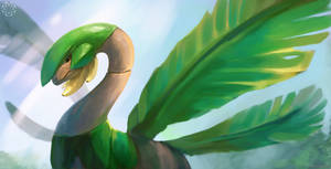 Tropius by R8A-creations