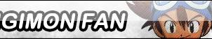 Digimon Fan Button by TyTrance