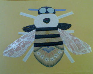 I made a bee by EvilAuthor