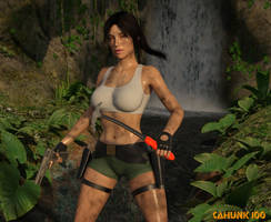 Lara Croft by CAHunk100
