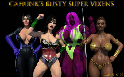 CAHunk's Busty Super Vixens by CAHunk100