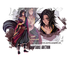 Black Wolf Adoptable Auction [CLOSED] by Artemis-adopties