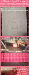 Pleated School Skirt Tutorial by OhThePlushabilities