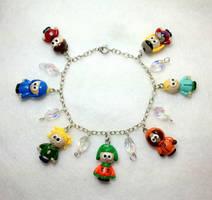 South Park Charm Bracelet 2 by OhThePlushabilities