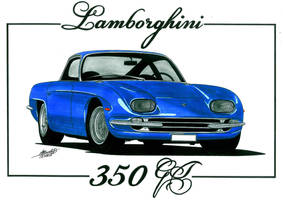 Lambo 350gt by bass-engineer