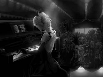 Lost the Piano by DoomMistress