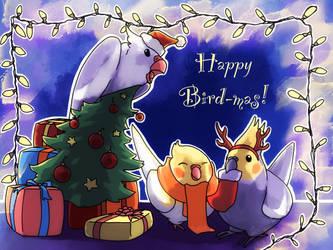 Happy Bird-mas! by DoomMistress