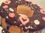 Valentine cake by Lylenn