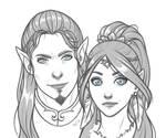 Arlenas and Sethi by Lylenn