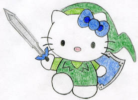 Hello Kitty Link by Wise-Keaton