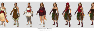 Spindrift - Costume designs1 by ElsaKroese