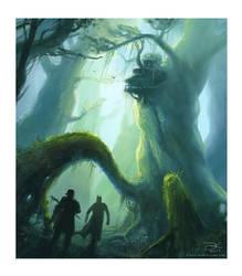 Color study - spindrift scene by ElsaKroese