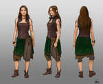 Spindrift - Costume designs Wen 2.0 by ElsaKroese