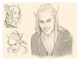 Hayden-doodles by ElsaKroese